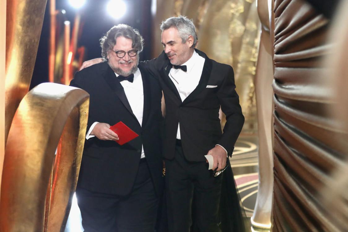 Альфонсо Куарон и Гильермо дель Торо