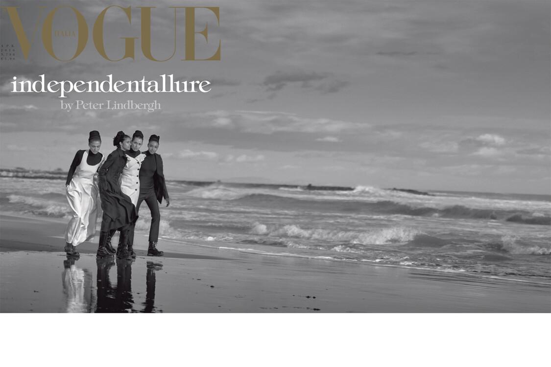 Vogue Italy, апрель 2016
