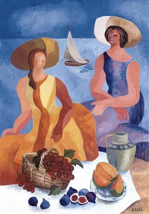 «Пикник на пляже», 1928