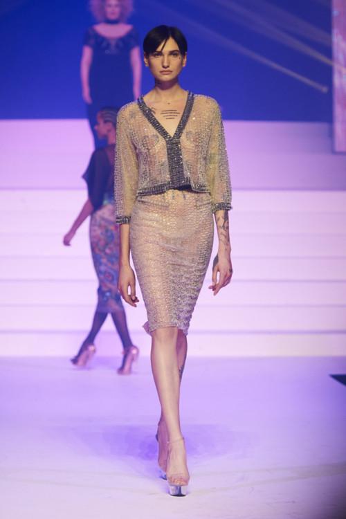 Марія Шевченко на шоу Jean Paul Gaultier Couture весна-літо 2020