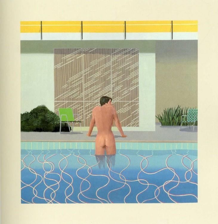 «Питер выбирается из бассейна Ника», 1966