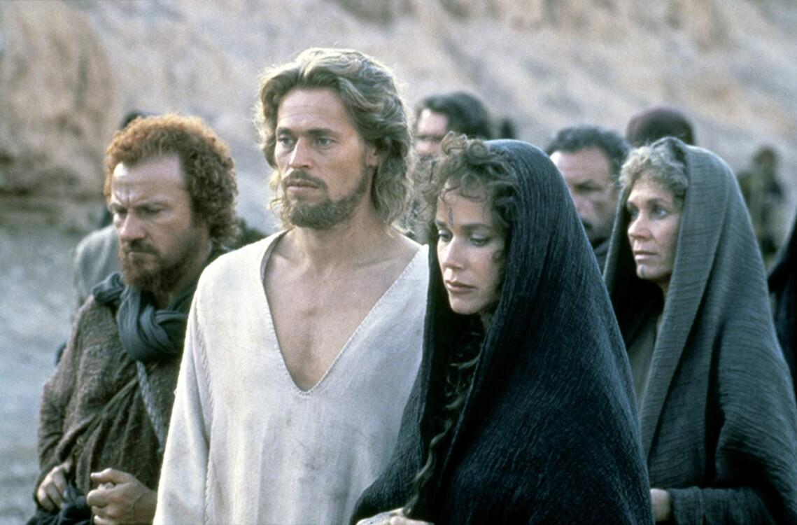 Уиллем Дефо в фильме «Последнее искушение Христа», 1988