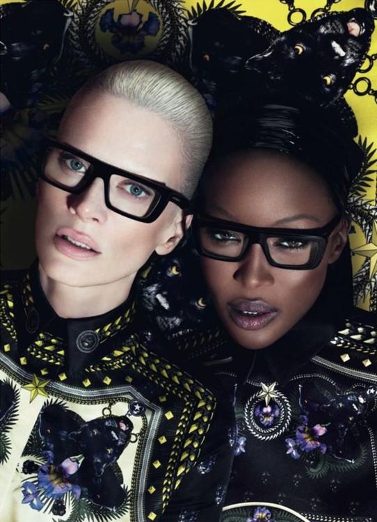 Рекламная кампания Givenchy осень-зима 2011, фото: Мерт Алас и Маркус Пиггот