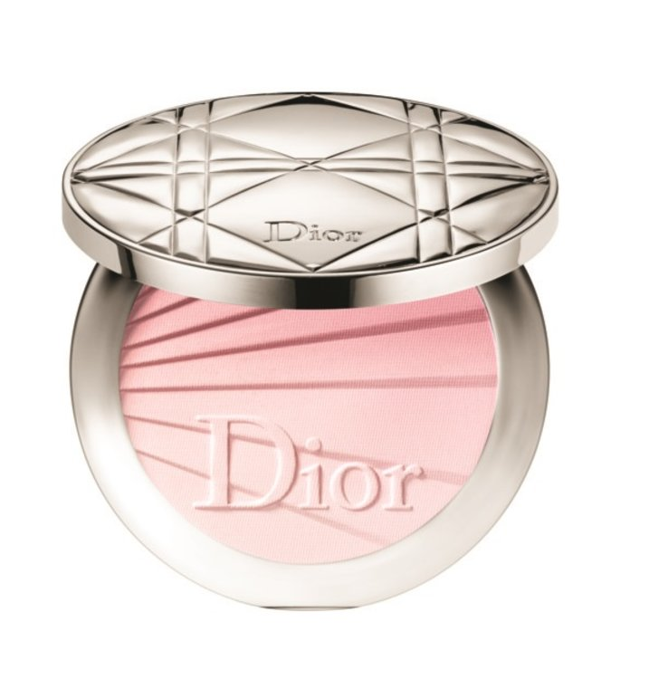 """Подсвечивающая пудра Diorskin Nude Air оттенка 001 Radiant Nude (""""Сиятельно обнаженный""""), Dior"""