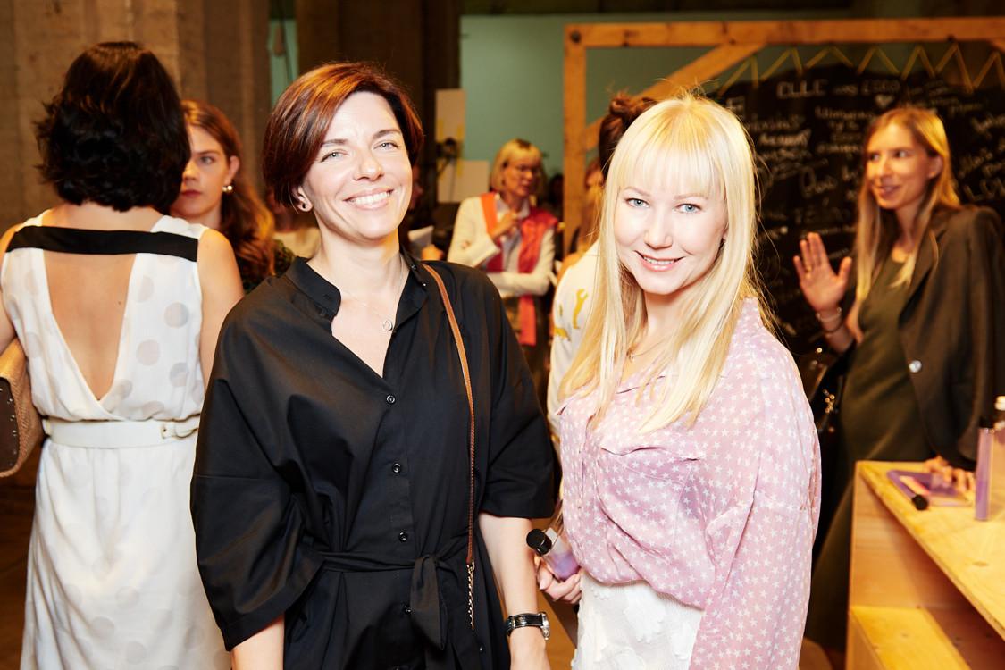 Ольга Муравьева (слева)