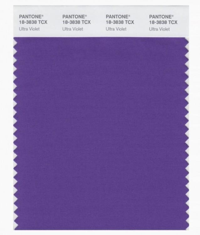 "PANTONE 18-3838 ""Ultra Violet"""