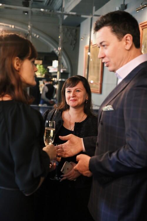 Соня Забуга, Ольга Гук-Дремина и Сергей Бадритдинов