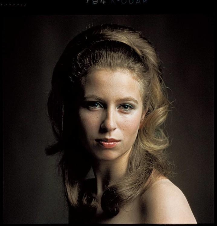 Портрет принцеси Анни зроблений на честь її 20-річчя 1970 року