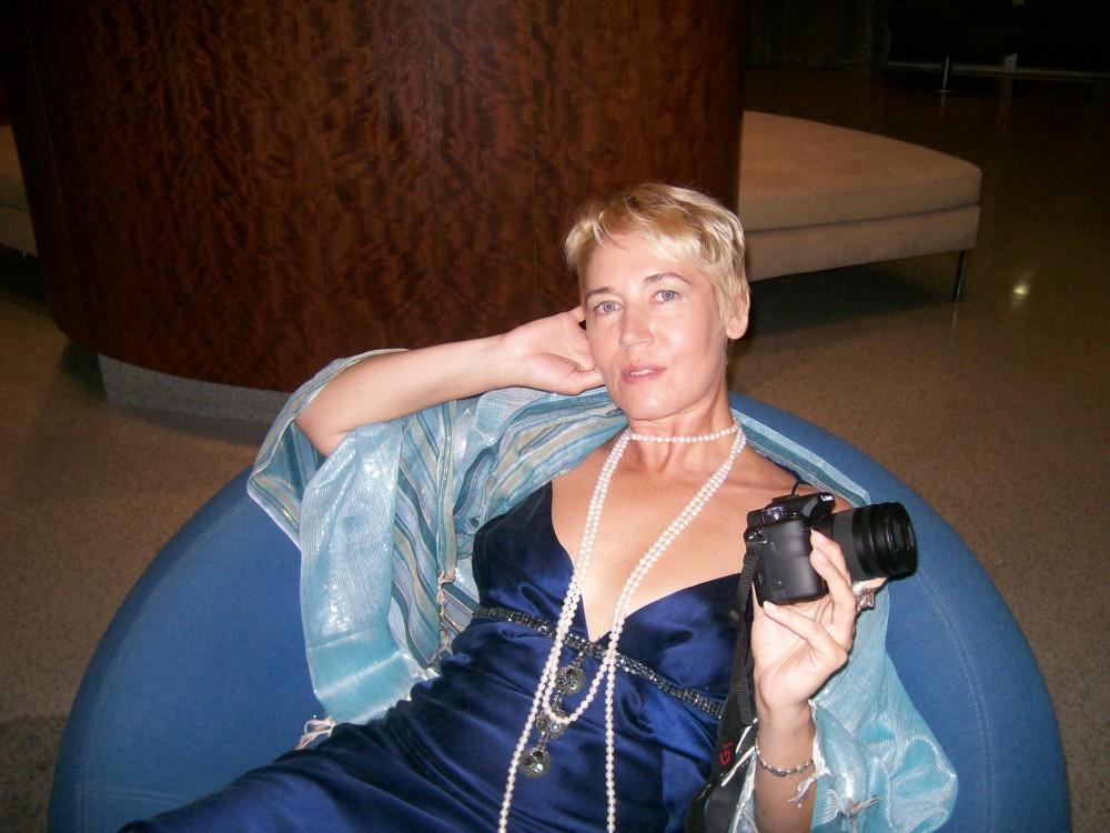 Портрет художницы, 2000-е. Предоставлено Валерией Трубиной