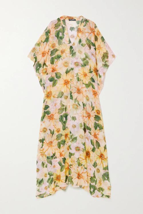 Модные шелковые платья сезона весна-лето 2021 фото
