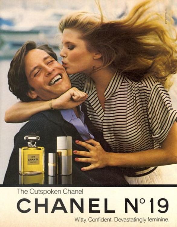 Ким Алексис в рекламе аромата Chanel №19