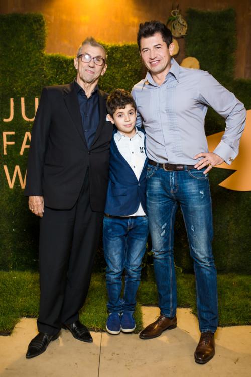 Андрій Джеджула з сином