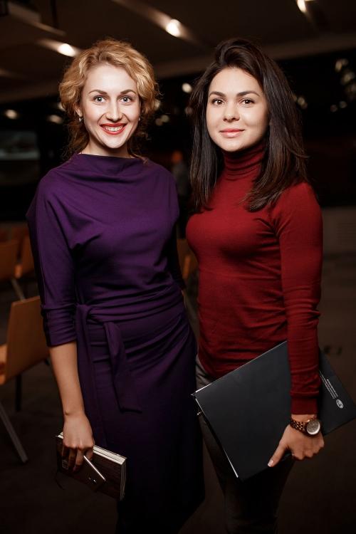 Светлана Плечак (ресторанная премия СОЛЬ) и Александра Соловей  (Mercedes-Benz Украина)