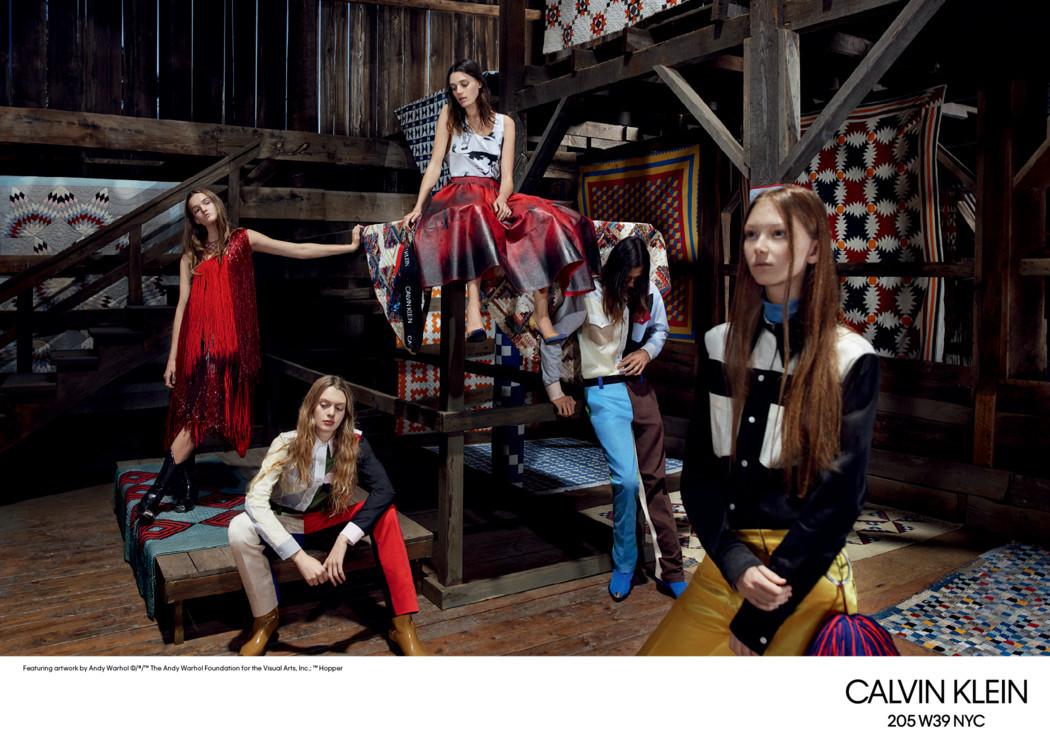 Calvin Klein 205W39NYC весна-лето 2018
