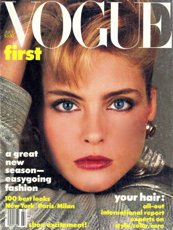 Ким Алексис, Vogue US, июль 1984