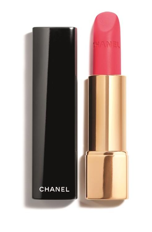Помада Rouge Allure Velvet 72 Infrarose, Chanel