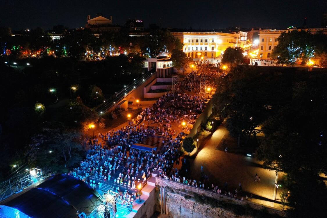Open air концерт на Потемкинской лестнице