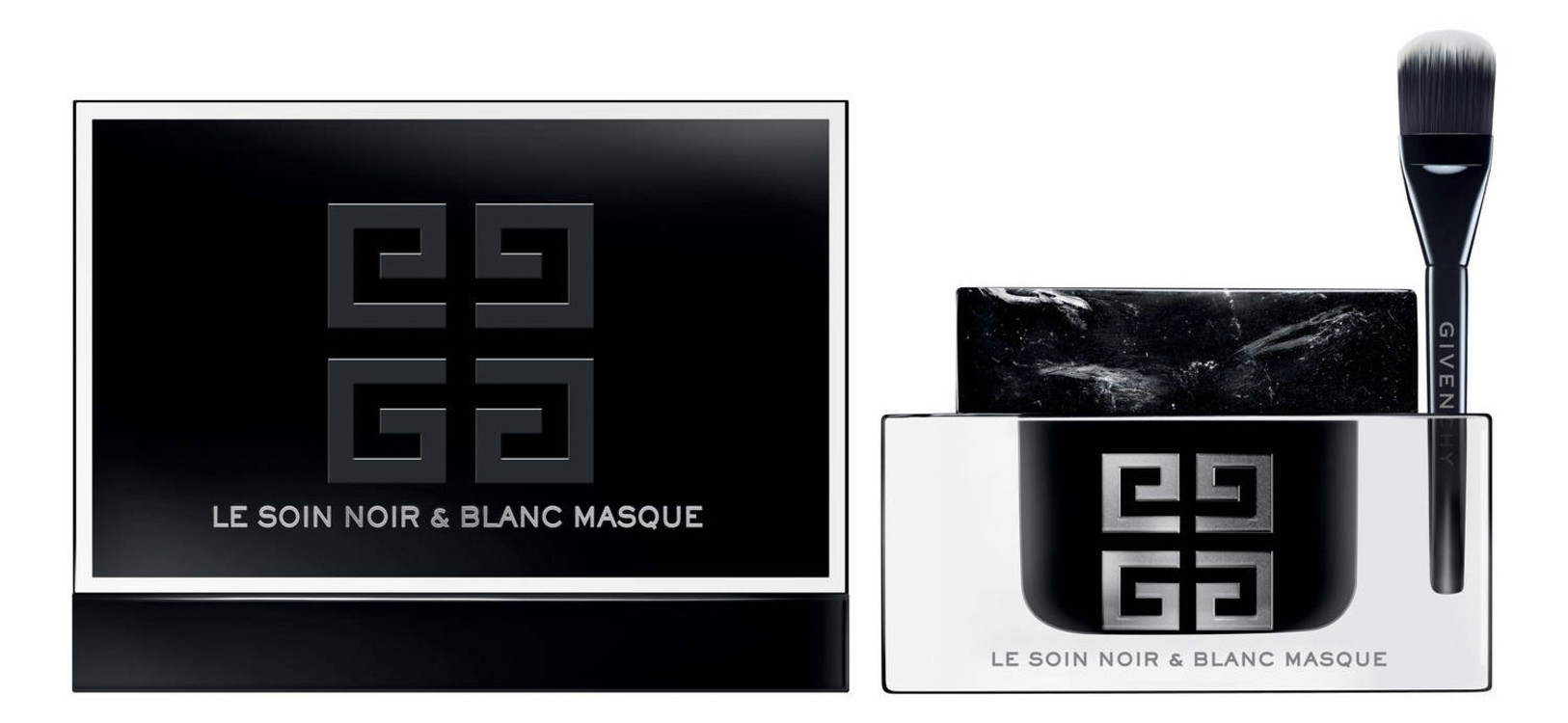Маска с мраморной текстурой Le Soin Noir & Blanc Masque, Givenchy