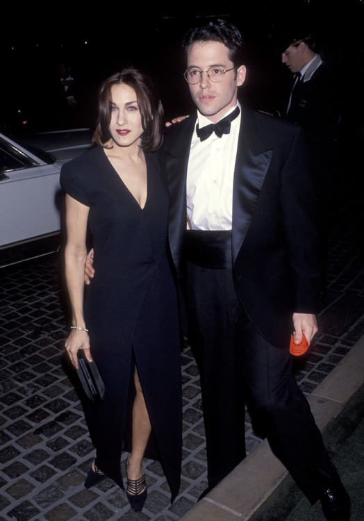 Сара Джессика Паркер и Мэттью Бродерик, 1993