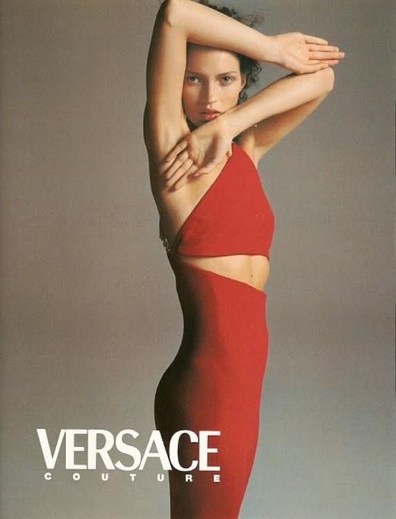 Versace осень-зима 1996/1997