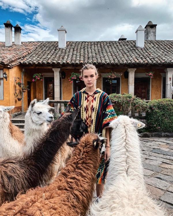 Жозефин Скривер в Эквадоре