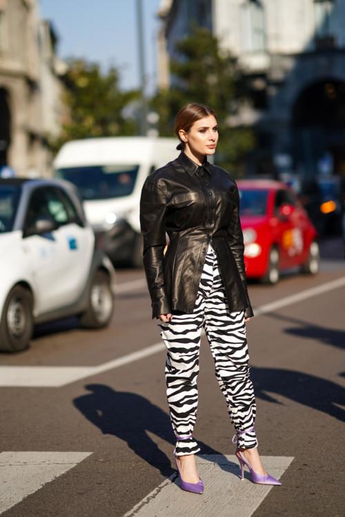 Принт зебра стритстайл фото примеры осень 2020 фото