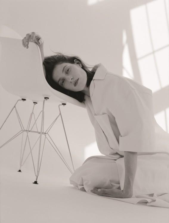 Хлопковая блуза, юбка из хлопка, все – Melitta Baumeister