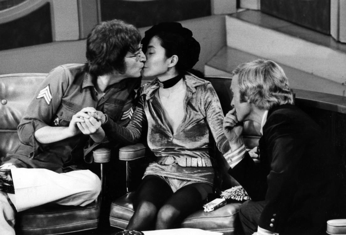 Джон Леннон і Йоко Оно на шоу Діка Каветта, 1971 рік