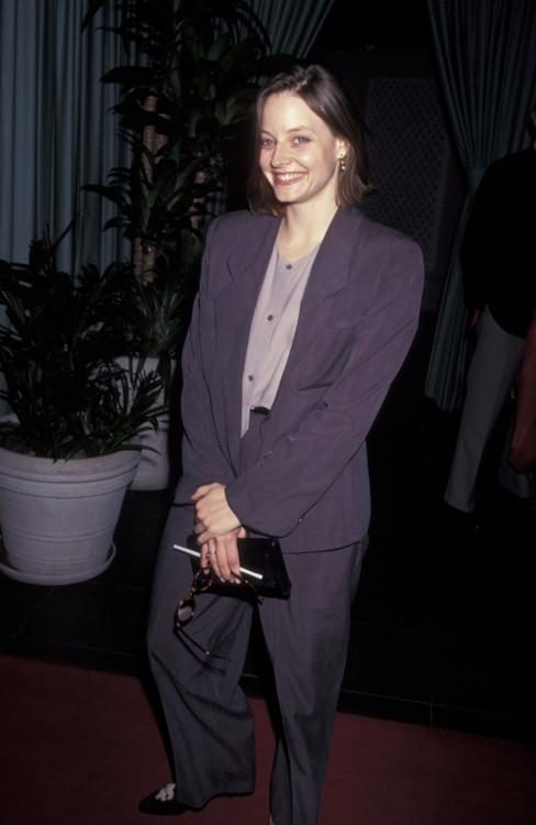 Джоди Фостер на 6-й церемонии вручения премии «Независимый дух», 1991 год