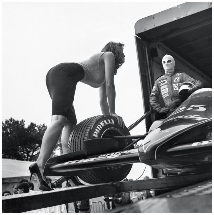 Съемка для календаря Pirelli, 1986