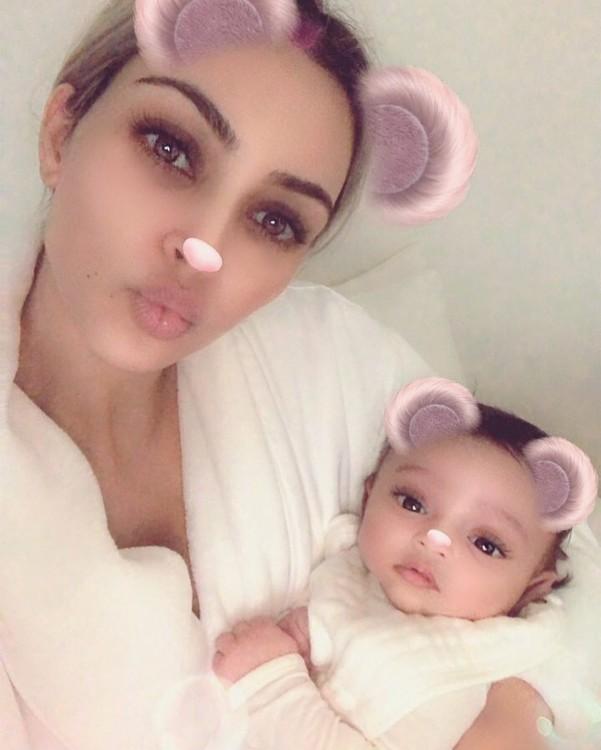 Кім Кардаш'ян та її син Чикаго Вест