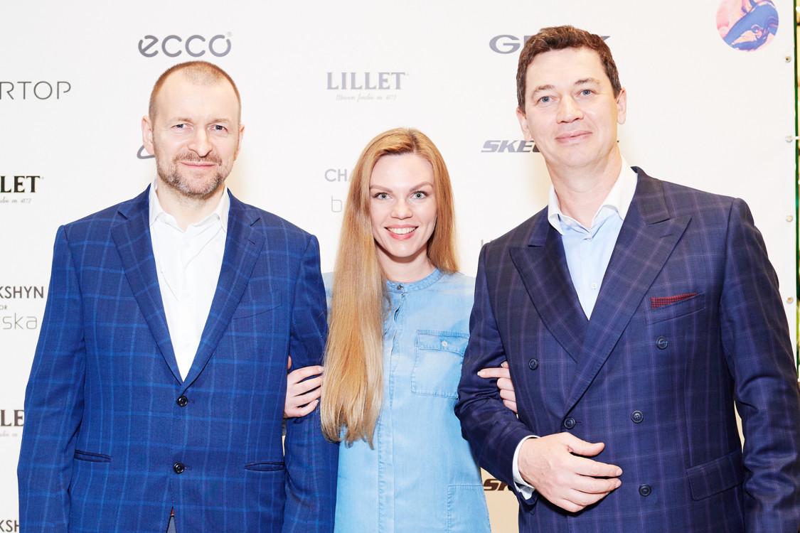 Валерия Толочина и Сергей Бадритдинов (справа)
