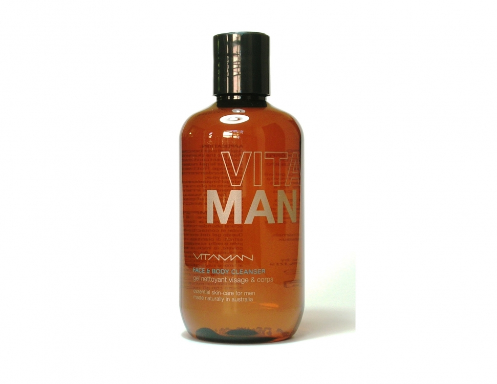 Средство для умывания, душа и мытья усов, Vita Man (сеть Niche)