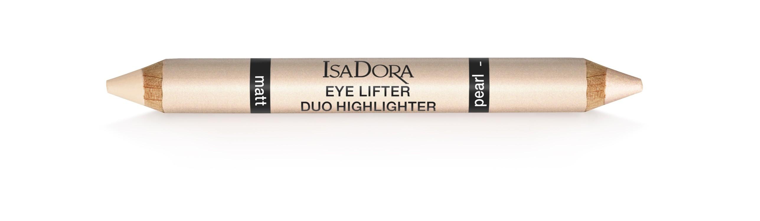 Карандаш-хайлайтер Eye Lifter Duo 3-in-1 для макияжа глаз, IsaDora