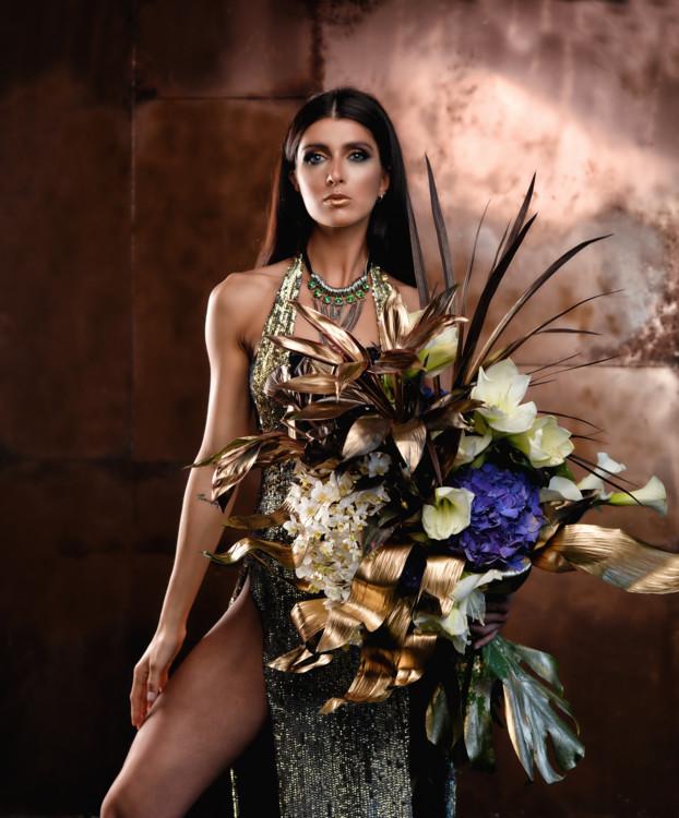 """Літня колекція букетів """"Бастет"""", квіткова майстерня LoraShen"""