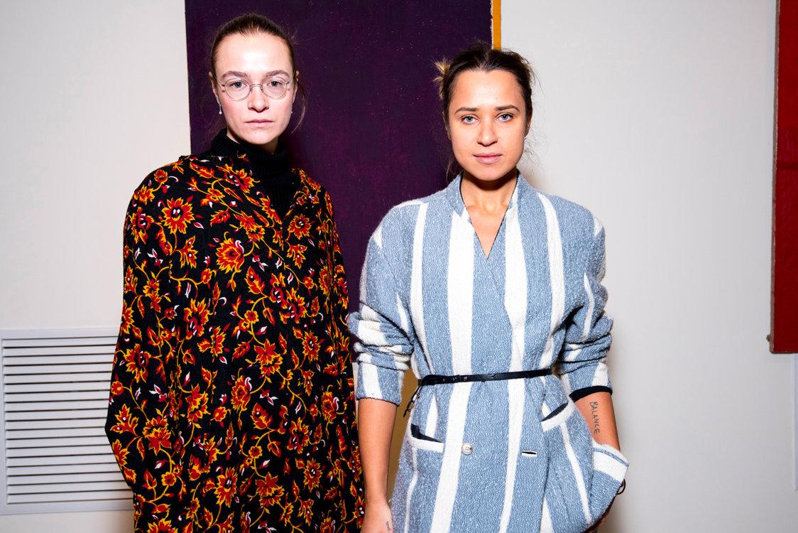 Надя Шаповал и Ксения Каргина