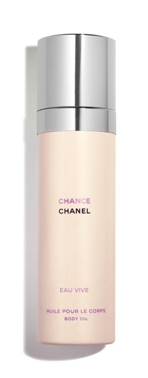 Масло для тела Chanel Chance Eau Vive, Chanel - сухое масло с ароматом грейпфрутов на мускусной подложке