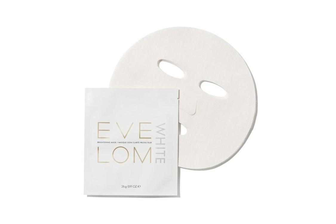 Интенсивная осветляющая тканевая маска для лица White Brightening Face Mask, Eve Lom