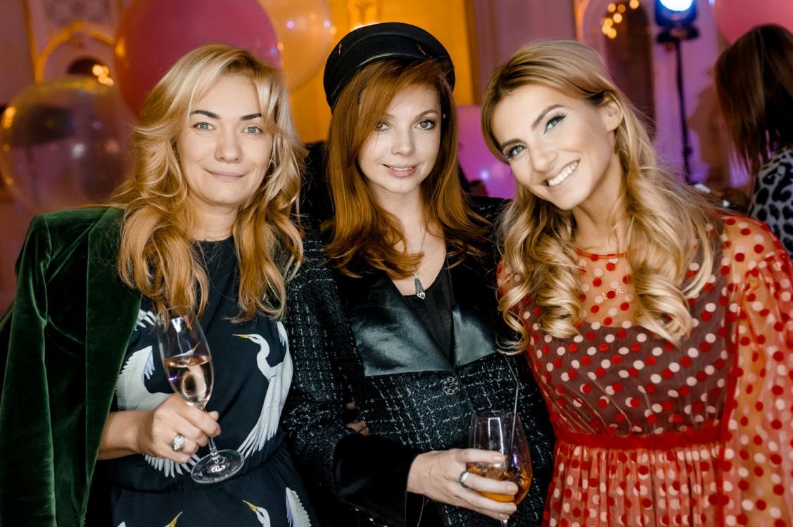 Ирина Ковальчук, Лидия Пфайфер и Елизавета Юрушева