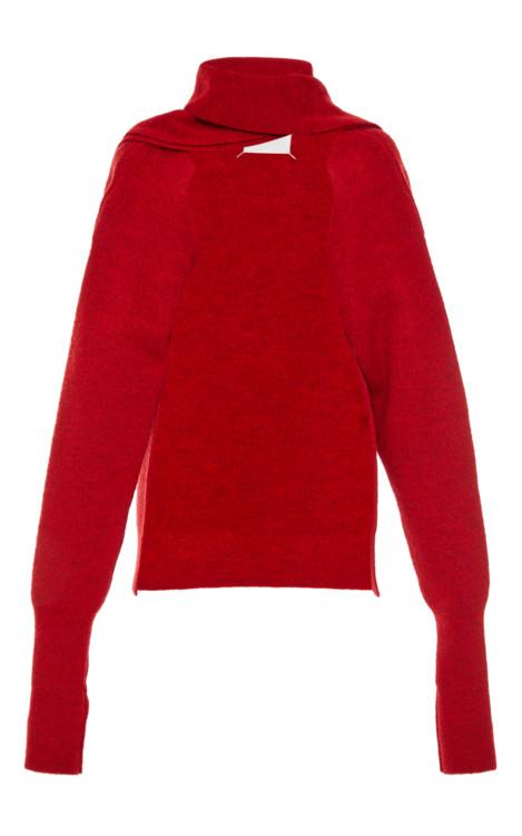Шерстяной свитер Maison Margiela