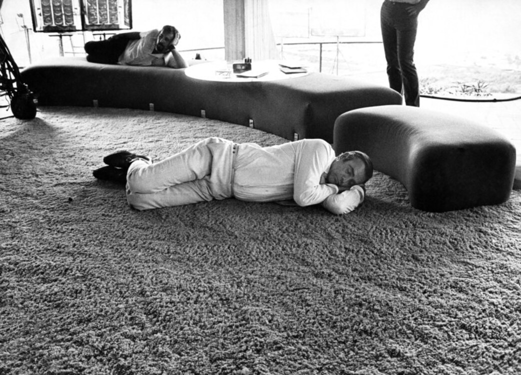 """Шон Коннери во время съемок """"Бриллианты навсегда"""", 1971"""