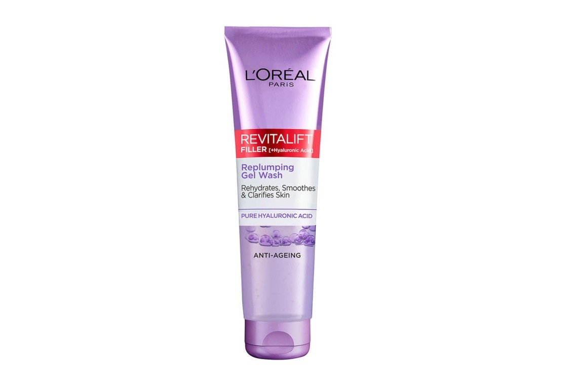 Гель для умывания L'Oréal Paris Revitalift Filler [+ Hyaluronic Acid] Gel Face Wash