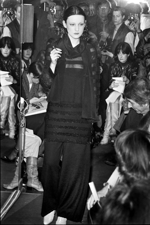 Sonia Rykiel осінь-зима 1976/77, фото Кріса Мура