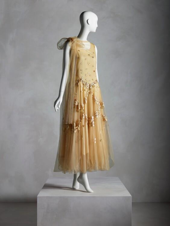 Вечірня сукня Мадлен Віонне, весна 1931 року; подарунок Сенді Шраєр