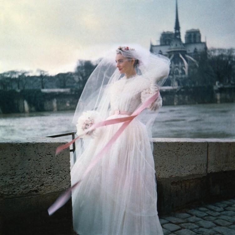 Зйомка французького Vogue, 1958