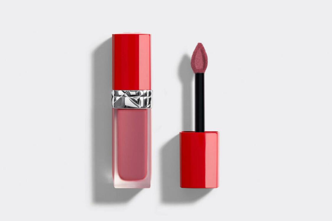 Жидкая помада для губ с цветочным маслом Rouge Dior Ultra Care Liquid №483 Glide из коллекции Birds Of A Feather, Dior