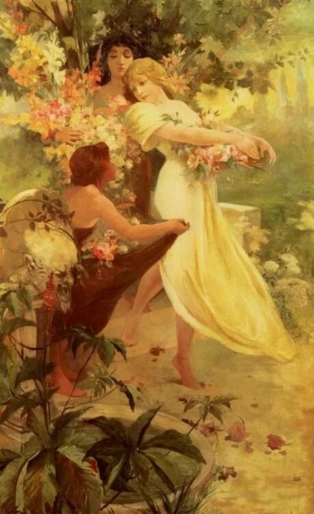 «Дух весны», 1894 (Частная коллекция)