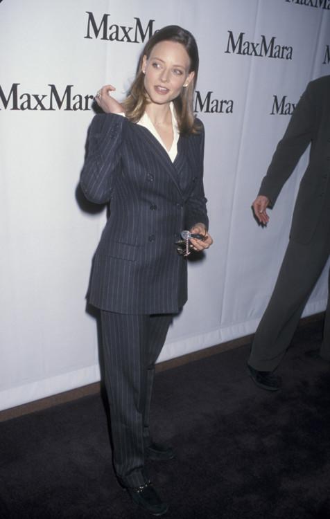 "Джуди Фостер на показе фильма ""Жанна д'Арк"", 1998 год"