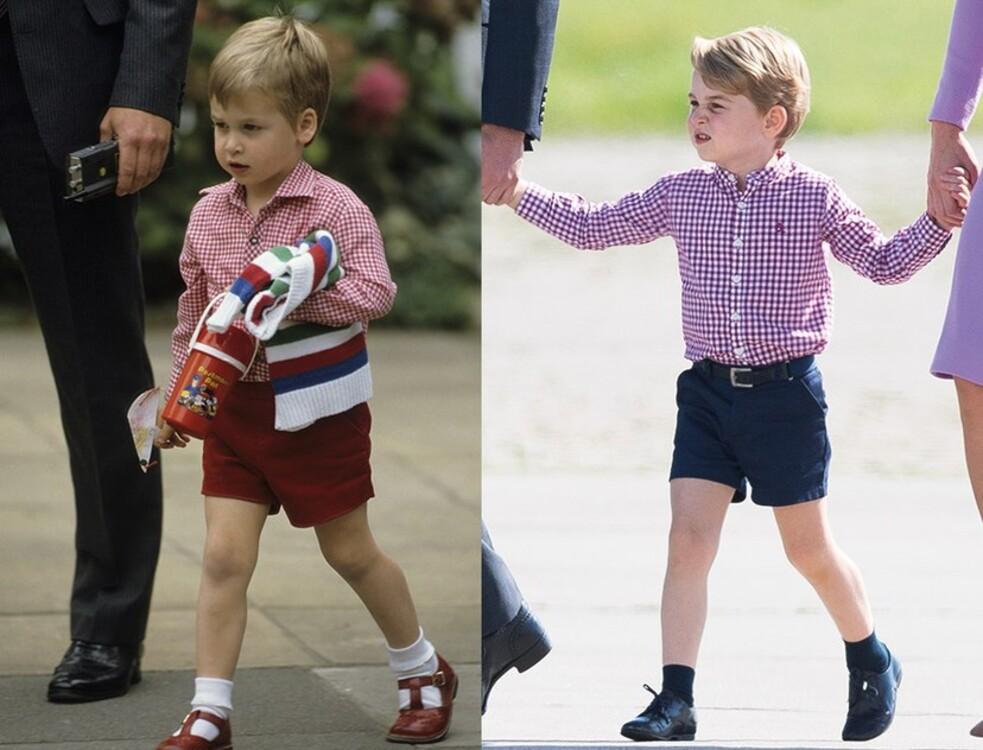 Принц Уильям, 1985 / принц Джордж, 2017