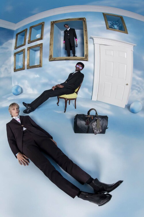 Louis Vuitton Menswear очень-зима 2020/2021